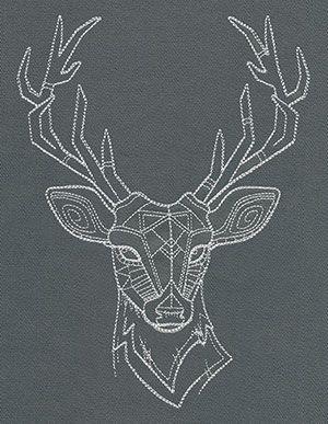 Drawn buck majestic Pretty makes ideas geometric Best