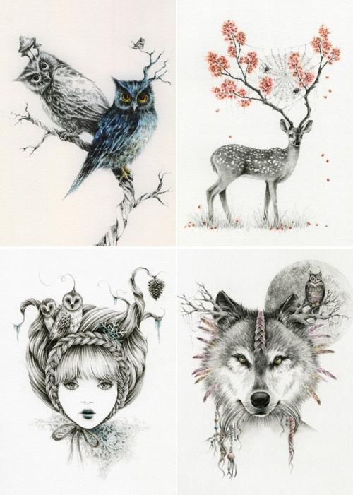 Drawn owl we heart it #2