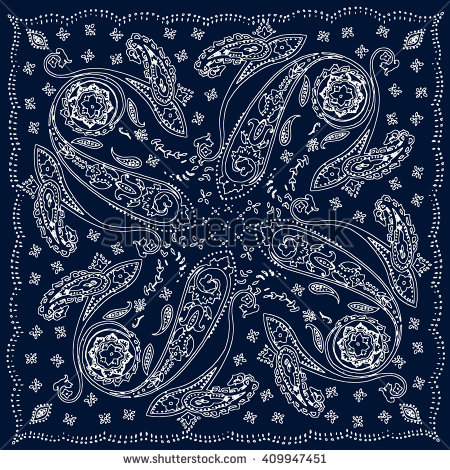 Drawn decoration paisley Ornament print  Vector bohemian