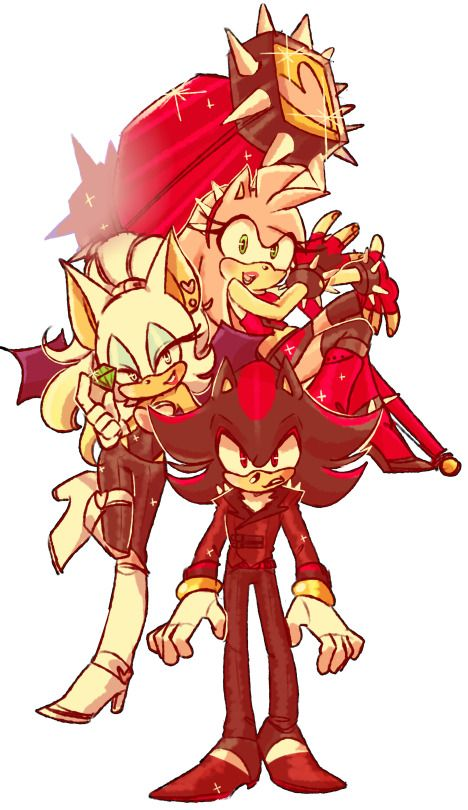 Drawn demon amy On Sonic Rose Amy images
