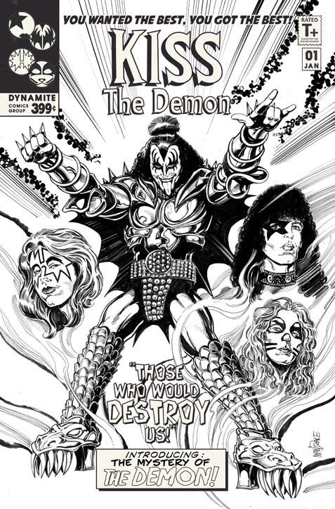 Drawn demon amy Demon starring Gene KISS: MacDonald