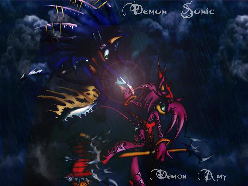 Drawn demon amy SonAmy by Flip0024 Flip0024 SonAmy