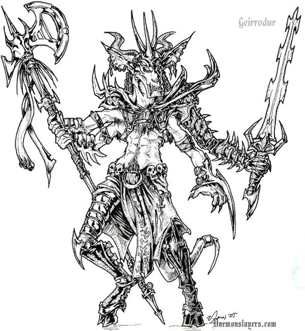 Drawn demon deamon #2