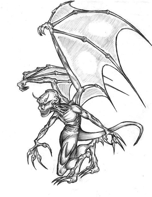 Drawn demon deamon #10