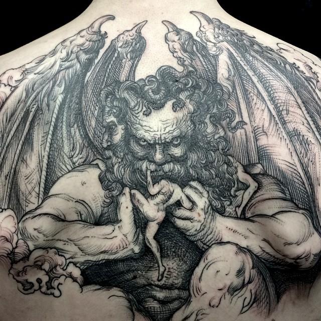 Drawn demon deamon #8