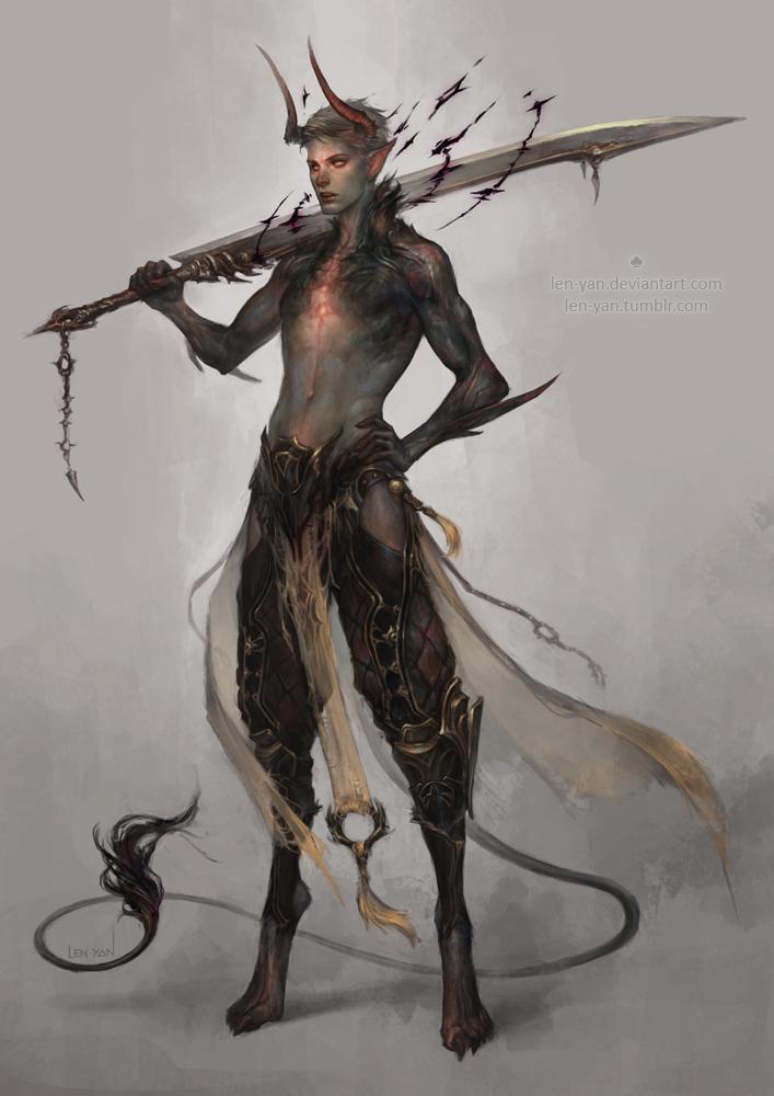 Drawn demon deamon #7