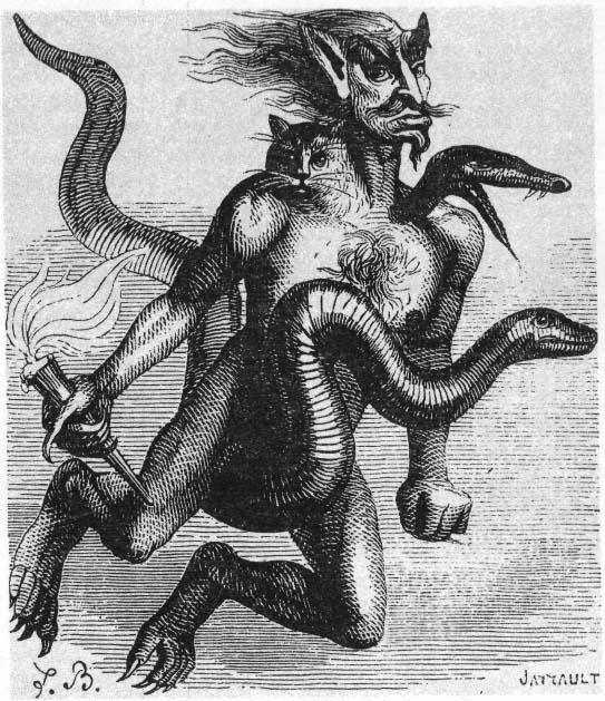 Drawn demon deamon #12