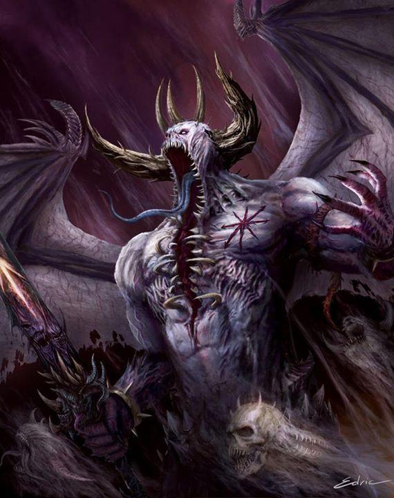 Drawn demon deamon #6