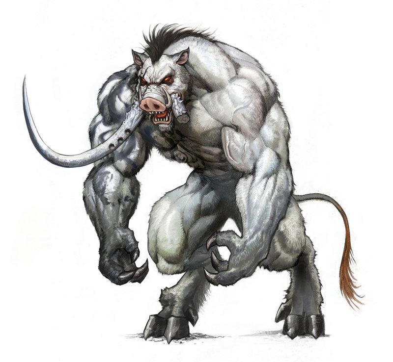 Drawn demon deamon #9