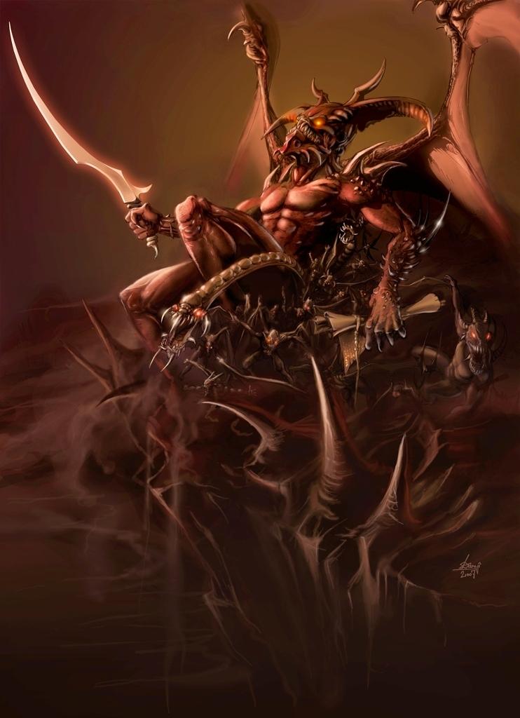 Drawn demon deamon #3