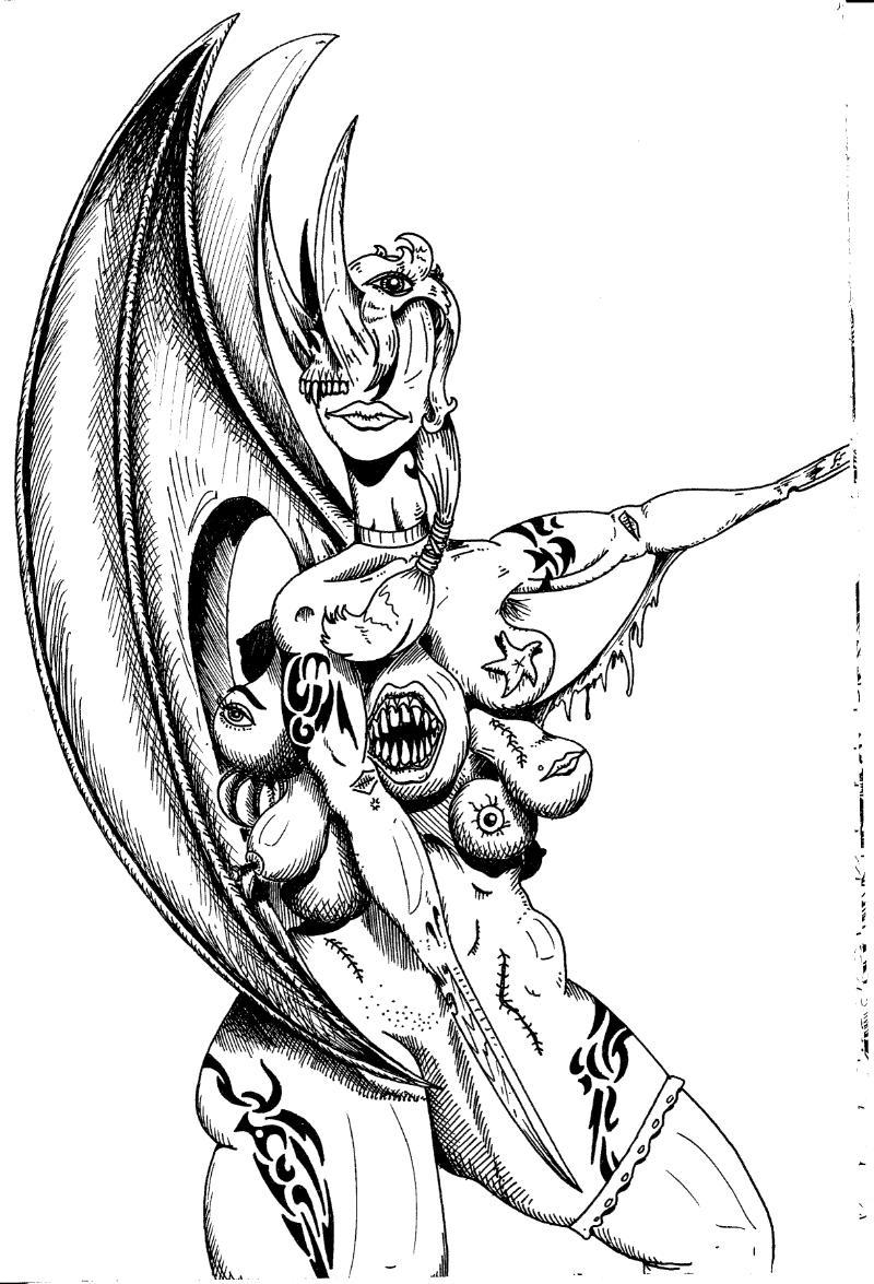 Drawn demon deamon #15
