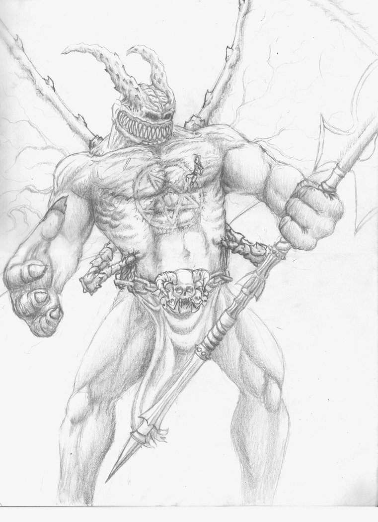 Drawn demon demon lord Nate2505 nate2505 Lord Demon by