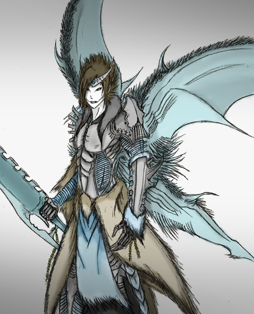Drawn demon demon lord Lord by Ice Ice DeviantArt