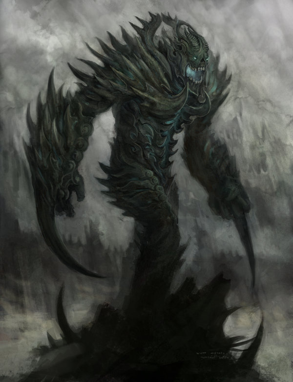 Drawn demon demon lord Lord by Kuntimong Kuntimong DeviantArt