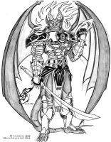 Drawn demon demon lord NOBUNAGA by DEMON 1997 DeviantArt