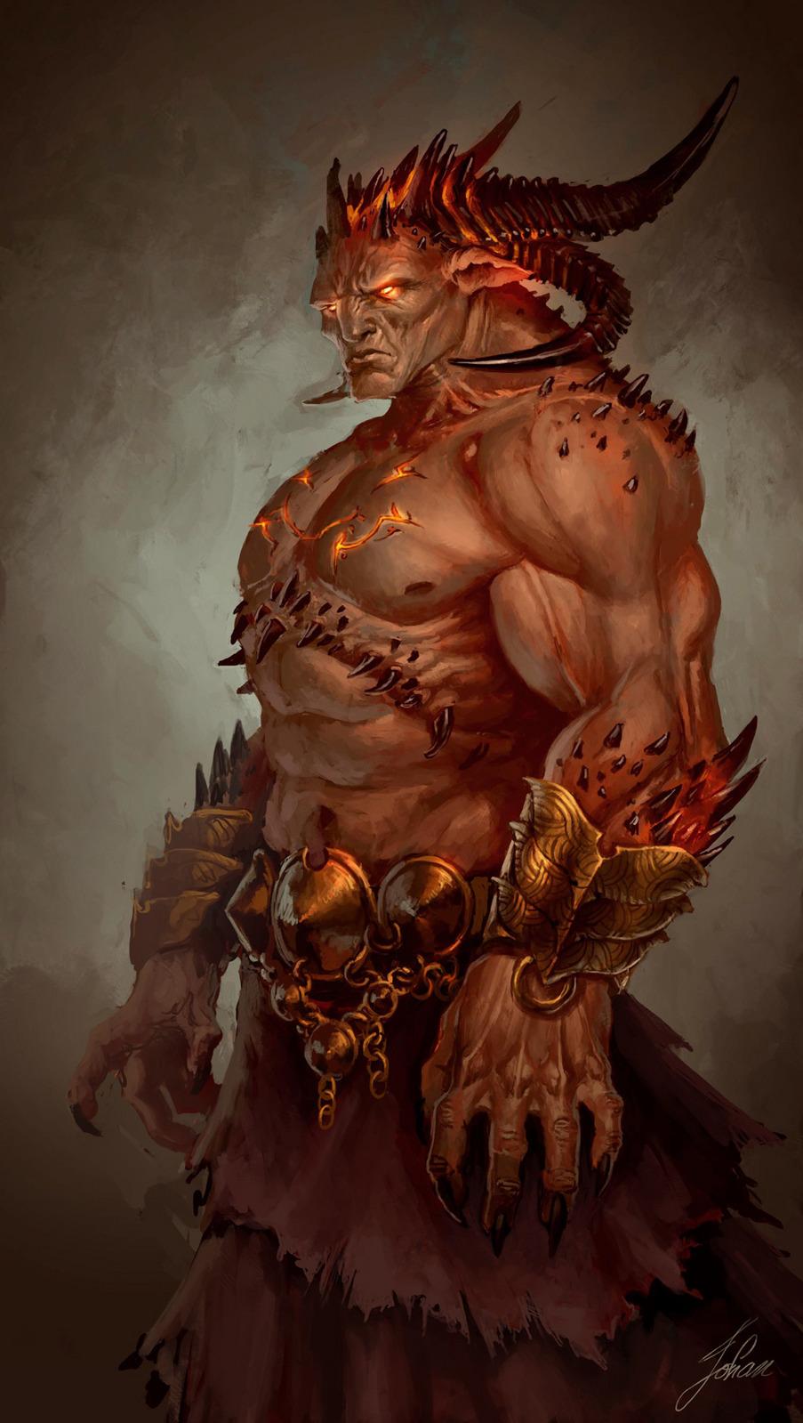 Drawn demon demon lord Johan_g johan_g lord Demon Pinterest