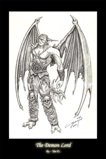 Drawn demon demon lord By Icy Demon Demon DeviantArt