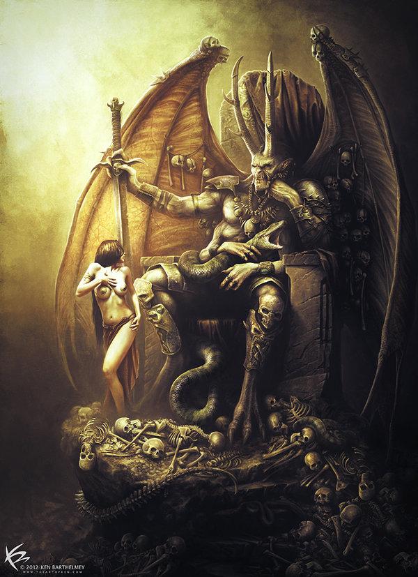 Drawn demon demon lord KENBARTHELMEY 303 Lord KENBARTHELMEY by
