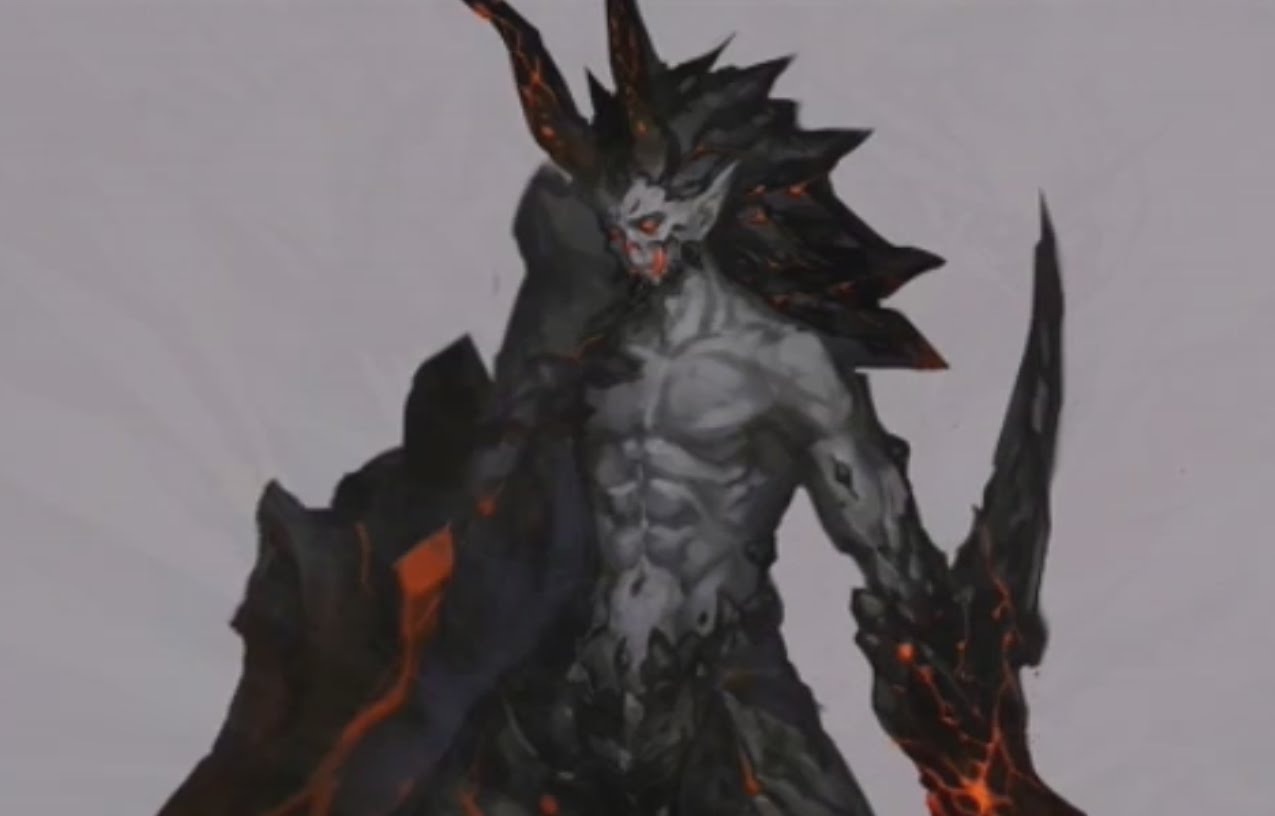 Drawn demon demon lord Lord Reaper Souls Unsubscribe Speed