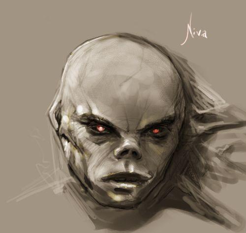 Drawn demon head Art Demon's using A The