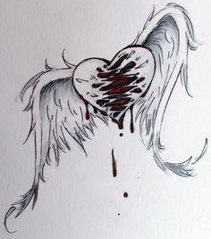 Drawn sad sad heart Soon con the  You