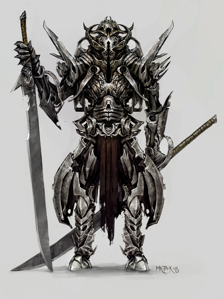 Drawn samurai demonic Mr Mr by Samurai Jack