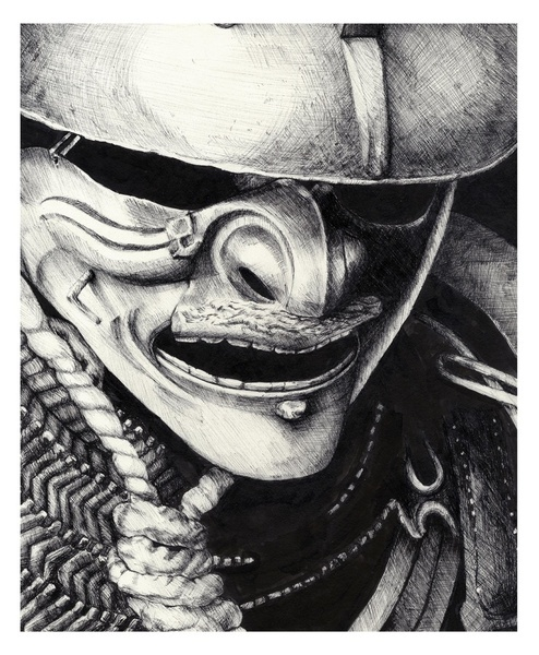 Drawn samurai demonic Best Pinterest on Samurai 22