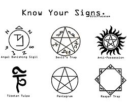 Drawn demon sigil supernatural With from are What supernatural