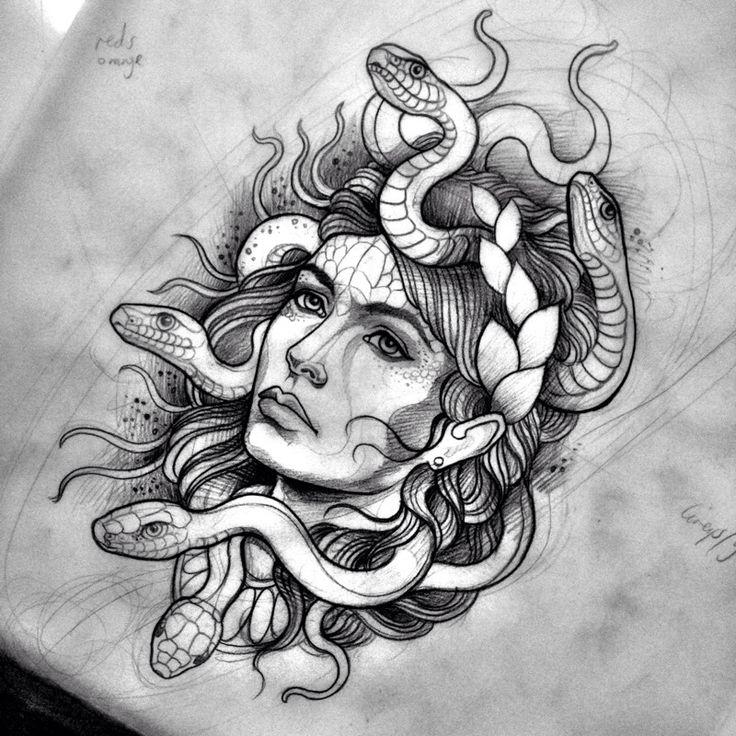 Drawn snake demon On images snake Devil 257