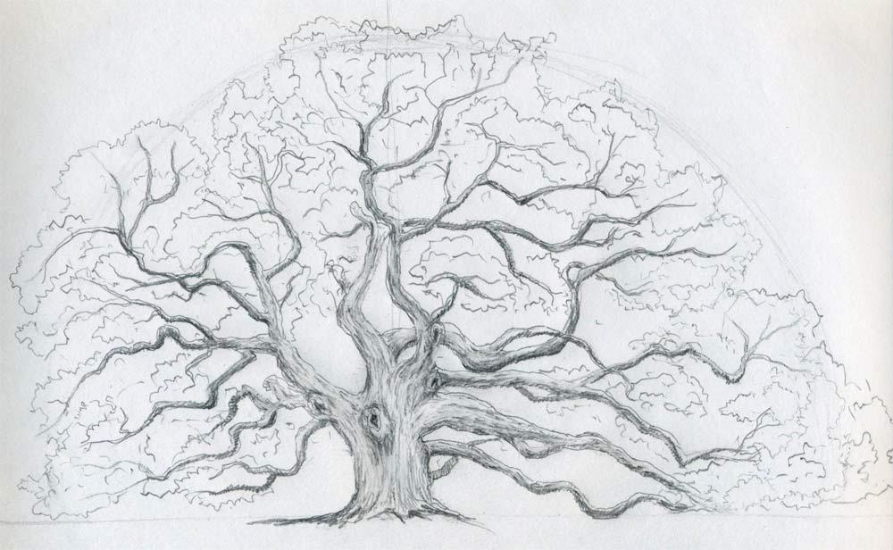 Drawn demon tree #3