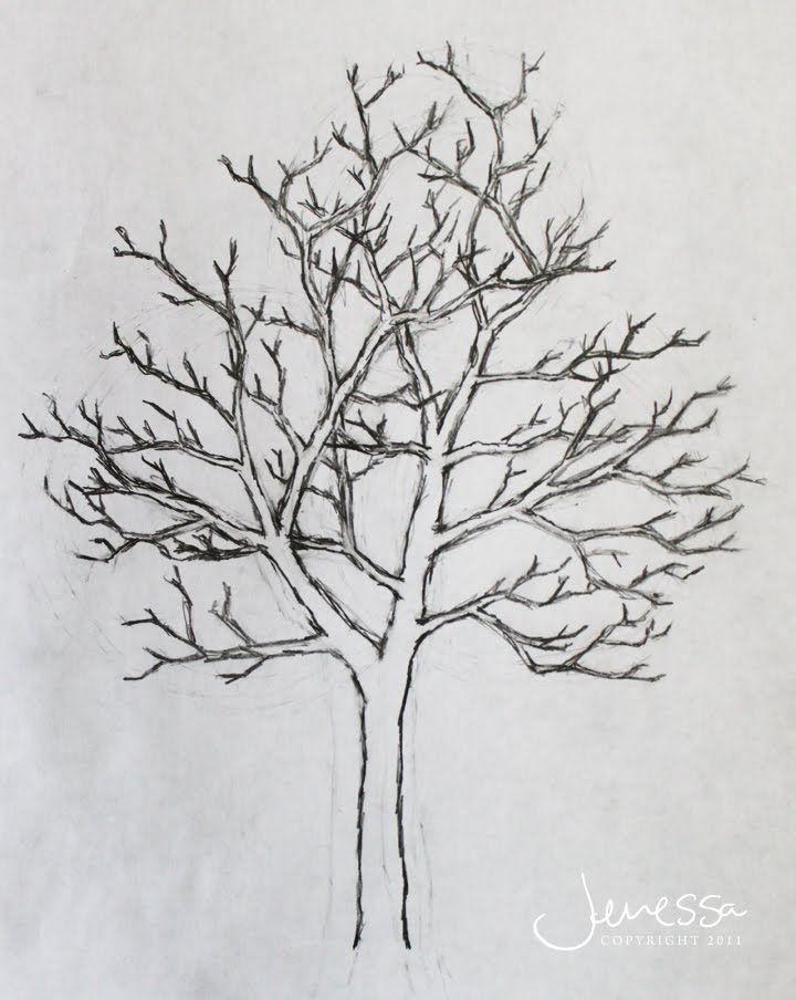 Drawn demon tree #10