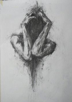 Drawn demon tree #9