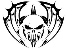 Drawn demon tribal #11