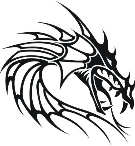 Drawn demon tribal #10