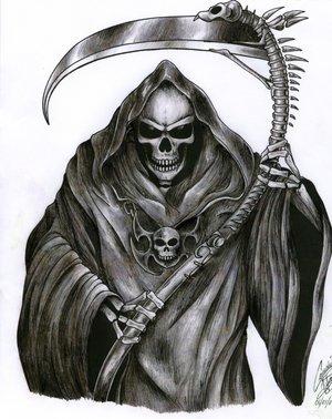 Drawn demon tribal #7