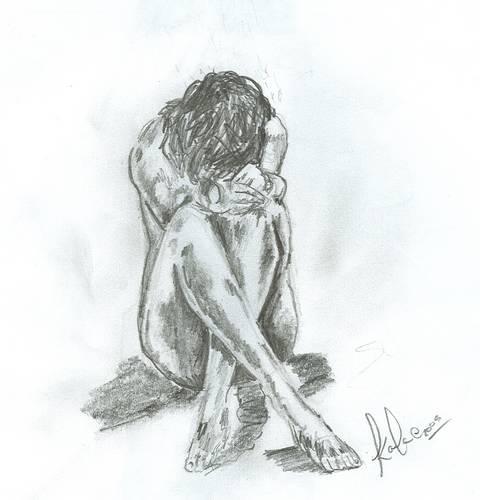 Drawn depression  Depression