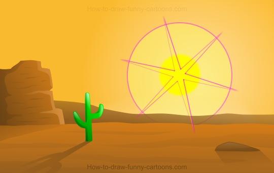 Drawn desert Draw to Desert A Draw