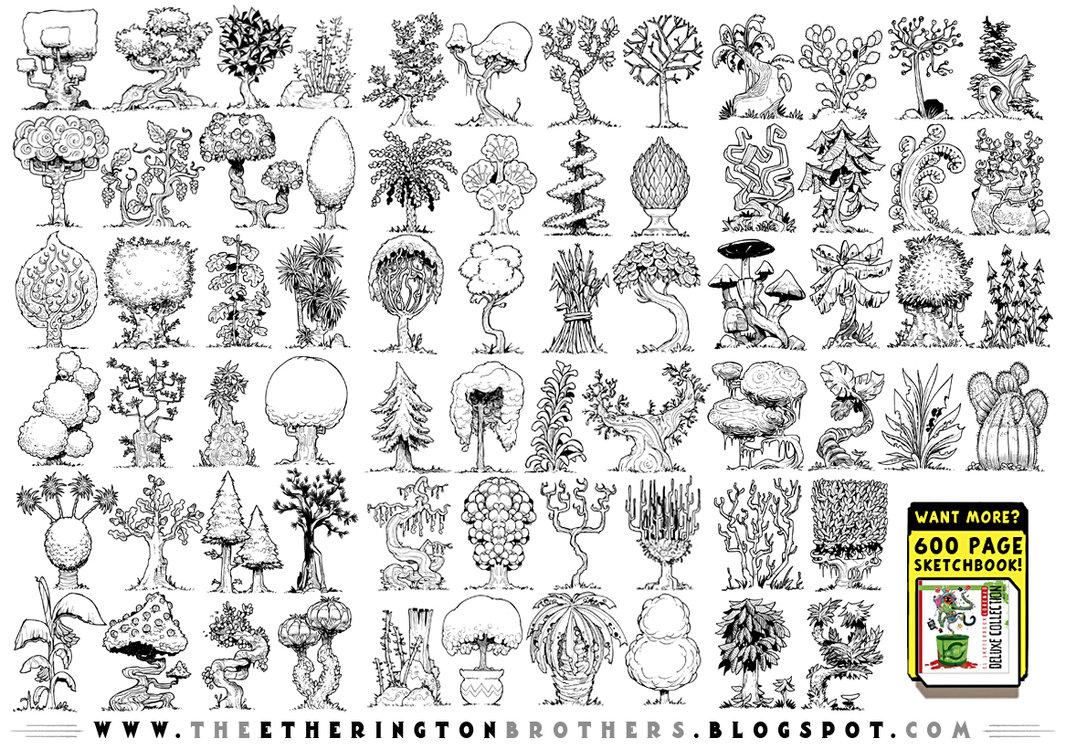 Drawn jungle jungle foliage On 68  on concepts