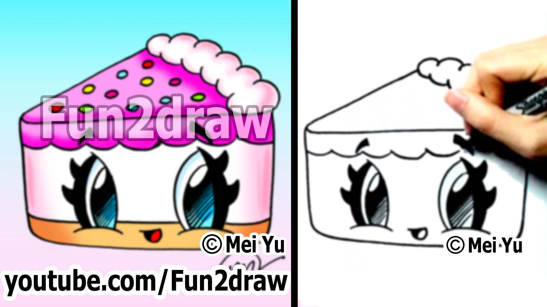Drawn strawberry cool easy fun Cake to How Cartoons Draw