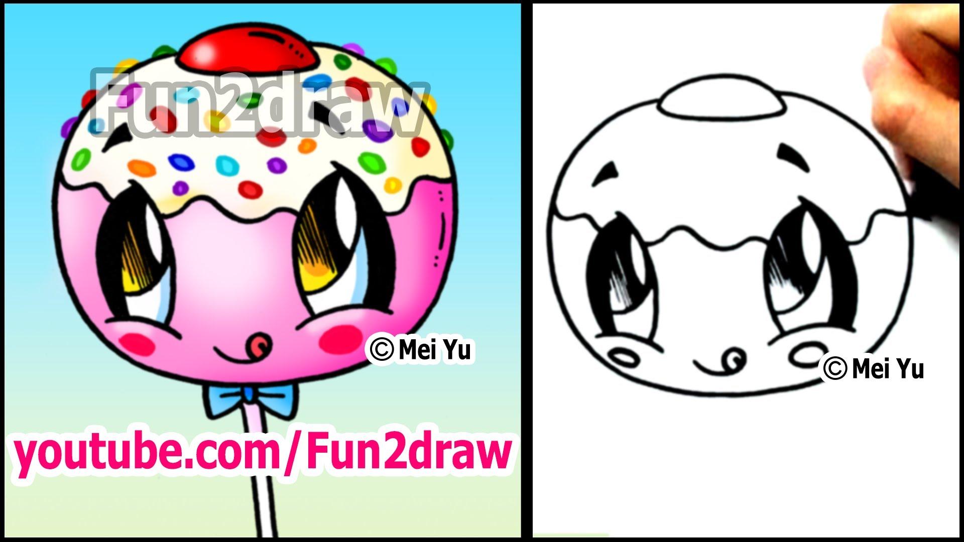 Drawn strawberry fun2draw (and Pop Cute Cute Cake