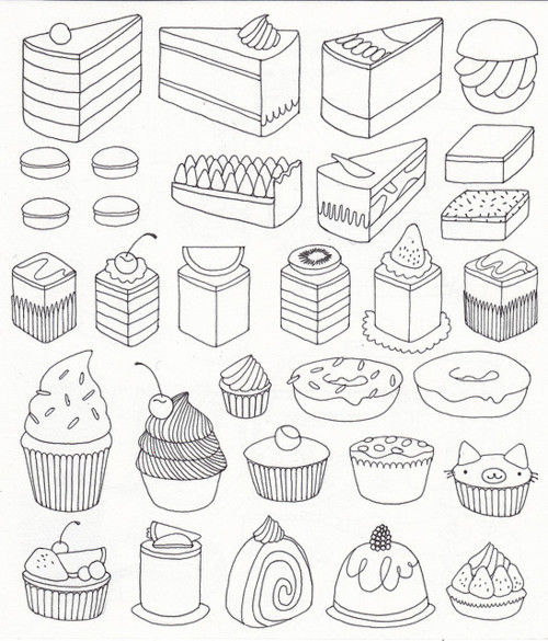Drawn sweets easy Blogspot estampar How By remeras
