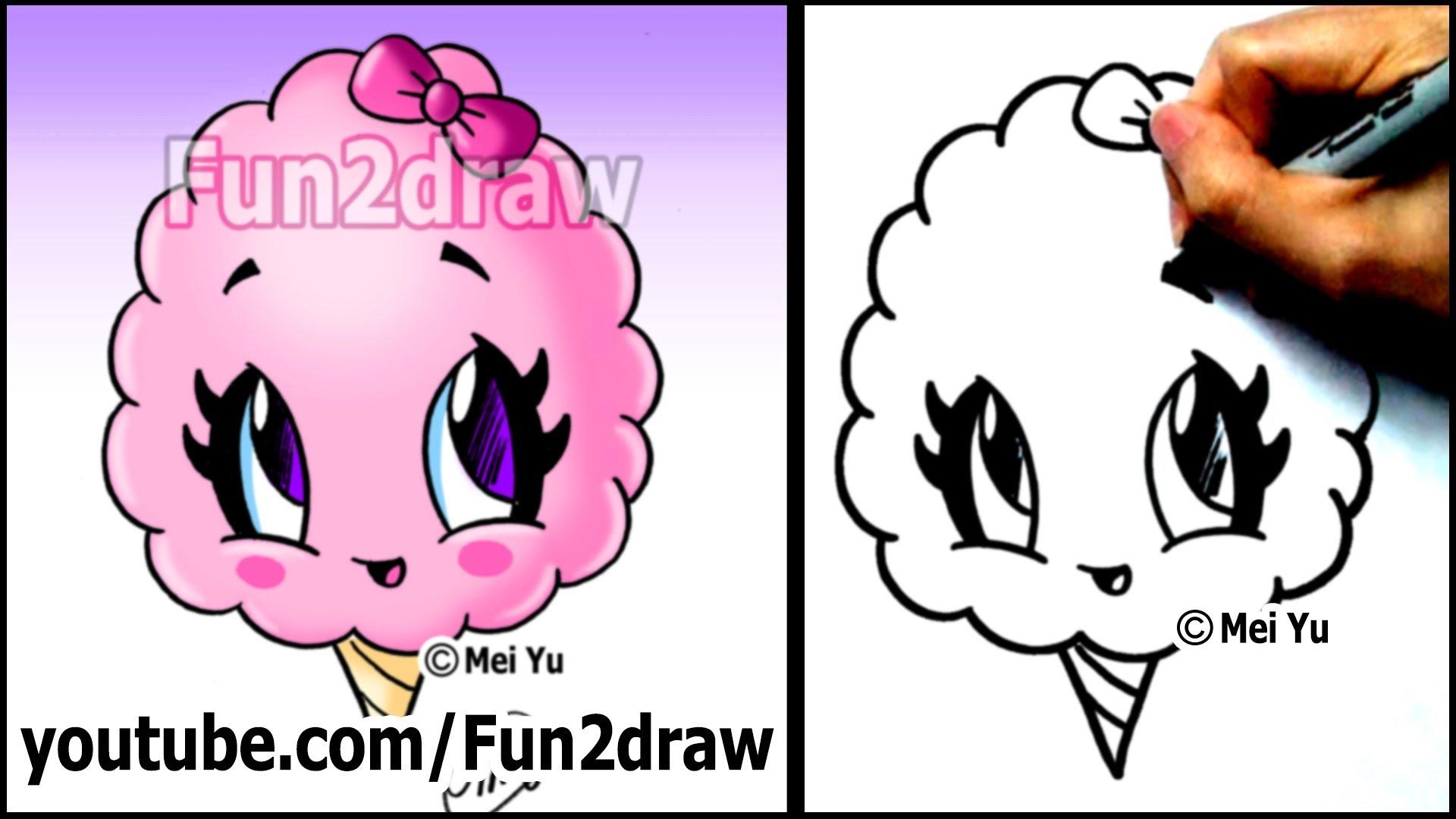 Drawn candy cartoon #4