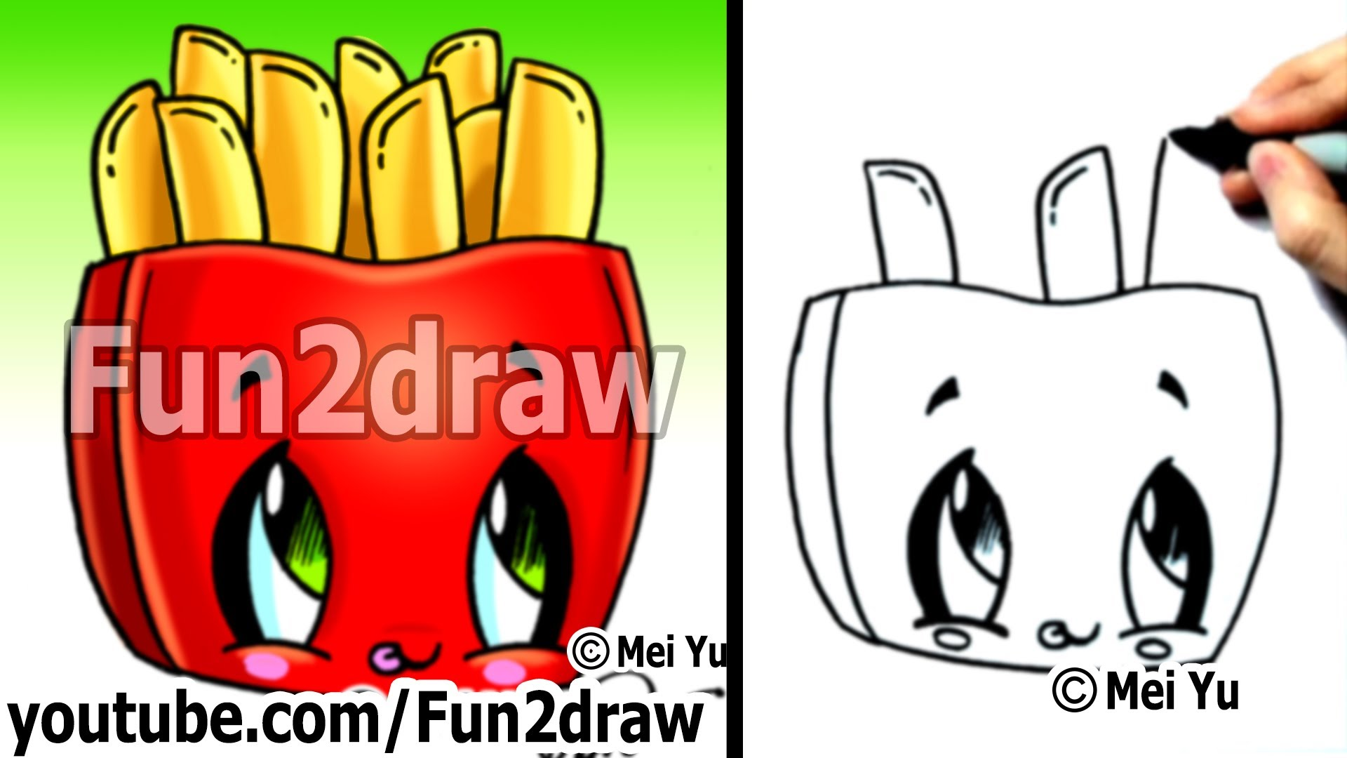 Drawn tacos fun2draw To Kawaii Kawaii Drawing) YouTube