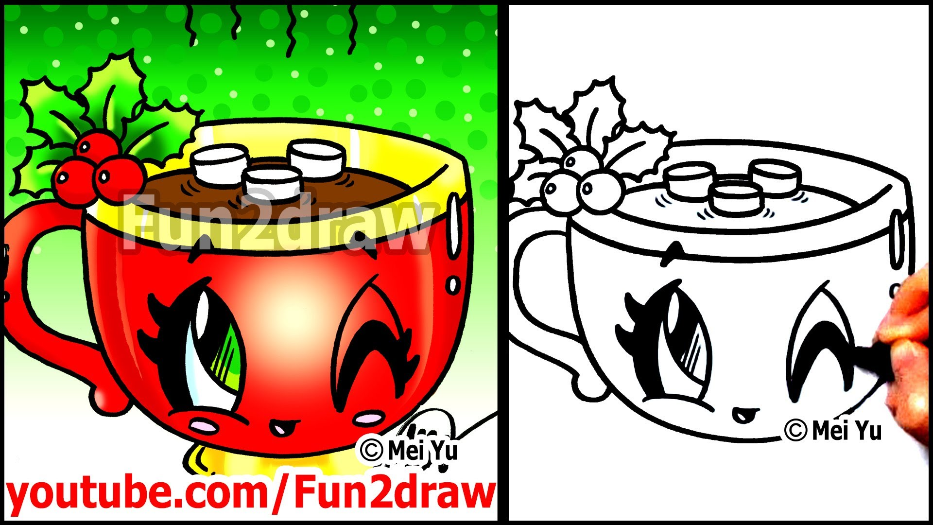 Drawn santa fun2draw + Hot How to Art