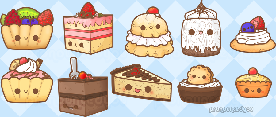Drawn dessert Pronouncedyou by doodles doodles DeviantArt