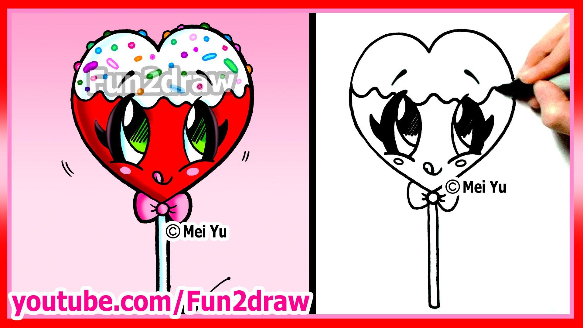 Drawn amd fun How  Draw to Lollipop
