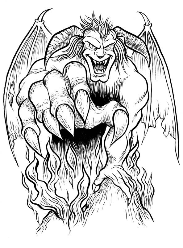 Drawn devil Guy daledriven on Draw Guy