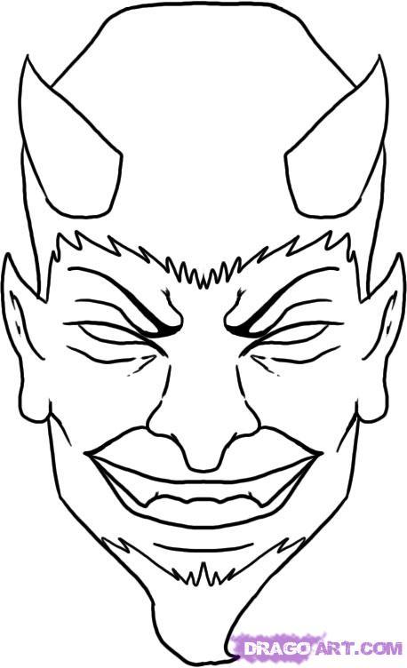 Drawn devil Pop a Step step Step