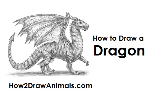 Drawn devil dragon #10