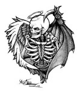 Drawn skeleton angel Skeleton this Love it on